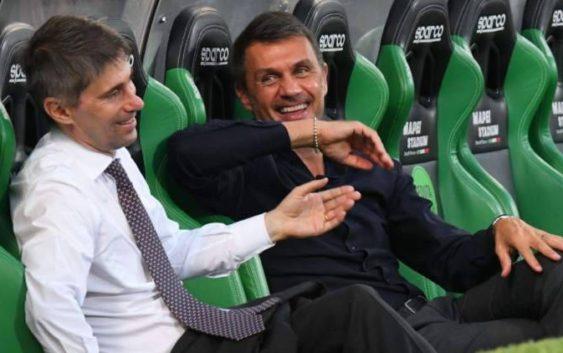 Frederic Massara and Paolo Maldini