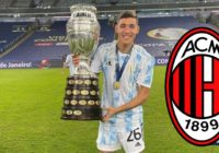 Argentine star issues come and get me plea to AC Milan