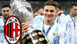 Striker scores hat trick in front of AC Milan scouts
